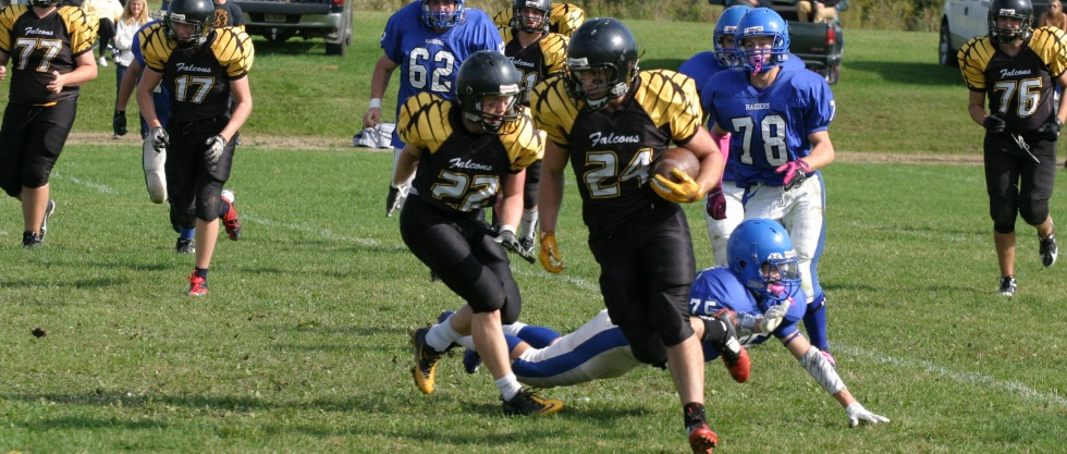 The Fellowes Falcons take on the RCI Raiders at Falcons Field on Friday, Oct. 3